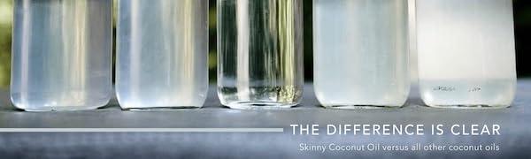 Amazon.com: Skinny & Co. Aceite de Coco Virgen Extra Skinny ...