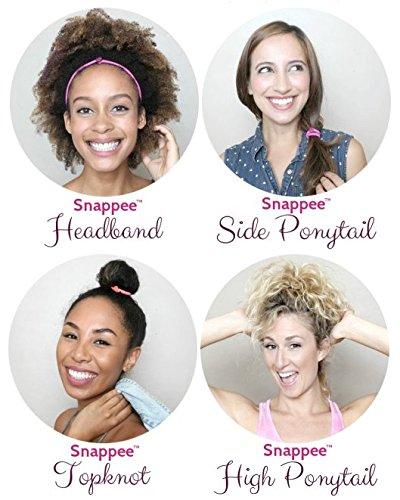The Premium Snap-Off Hair Tie by Snappee 8404858eddb