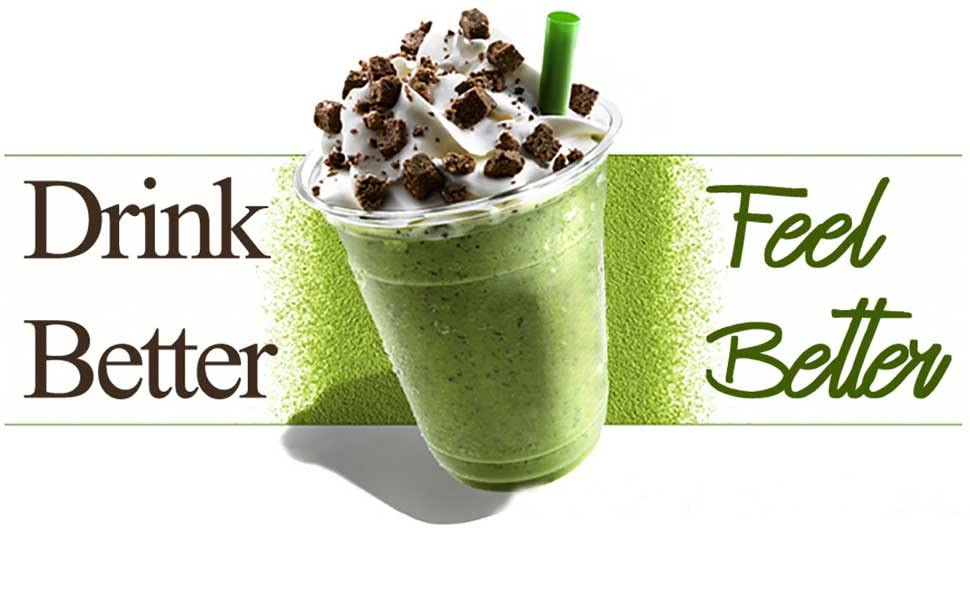 drink matcha green tea powder latte culinary grade frappe china japan japanese usda superfood