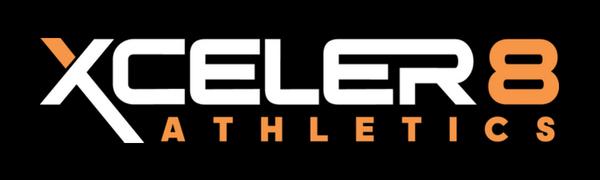 XCELER8 ATHLETICS Logo Sports Resistance for Overload and Speed Training Athletes