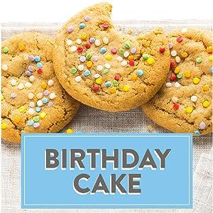 Deweys Bakery Soft Baked Birthday Cake Cookies