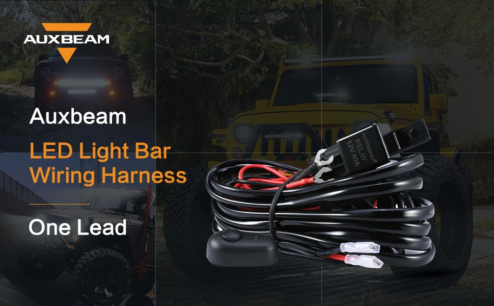 nsdecM46SMCJ._UX970_TTW__ amazon com auxbeam wiring harness kit for led light bar with fuse Burned Wire Romex In-Wall at highcare.asia