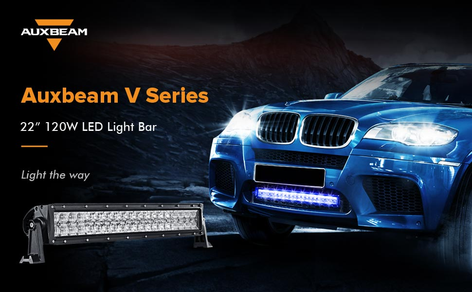 Amazon.com: Auxbeam 22 Inch LED Light Bar RGB Multi-color LED Bar ...