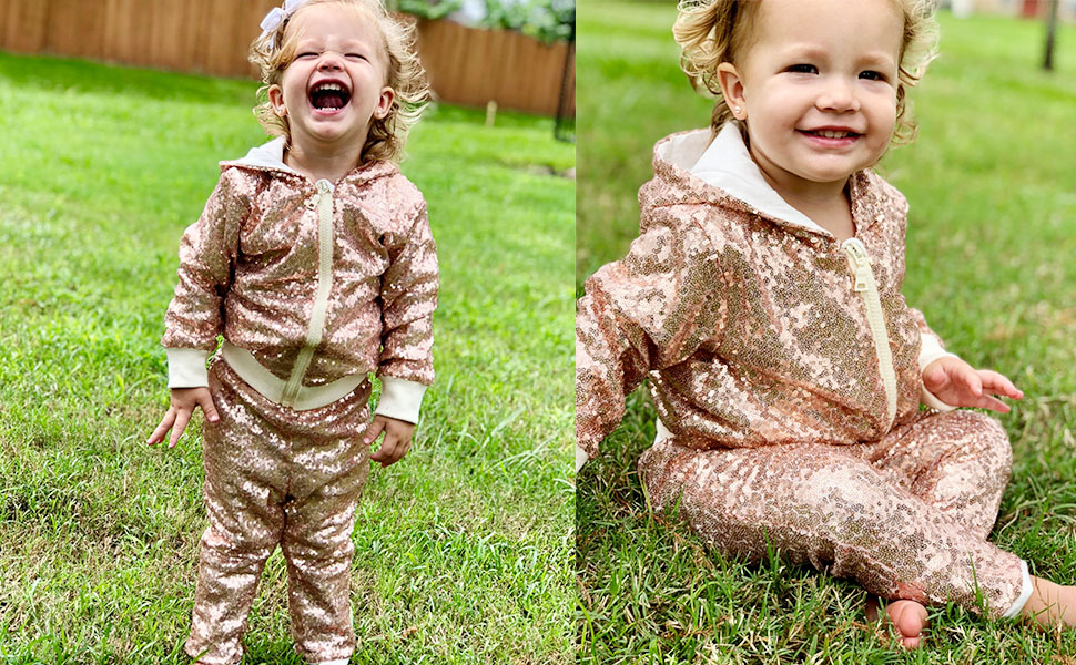 rose gold sequin jackets girls boys kids birthday christmas new year gift