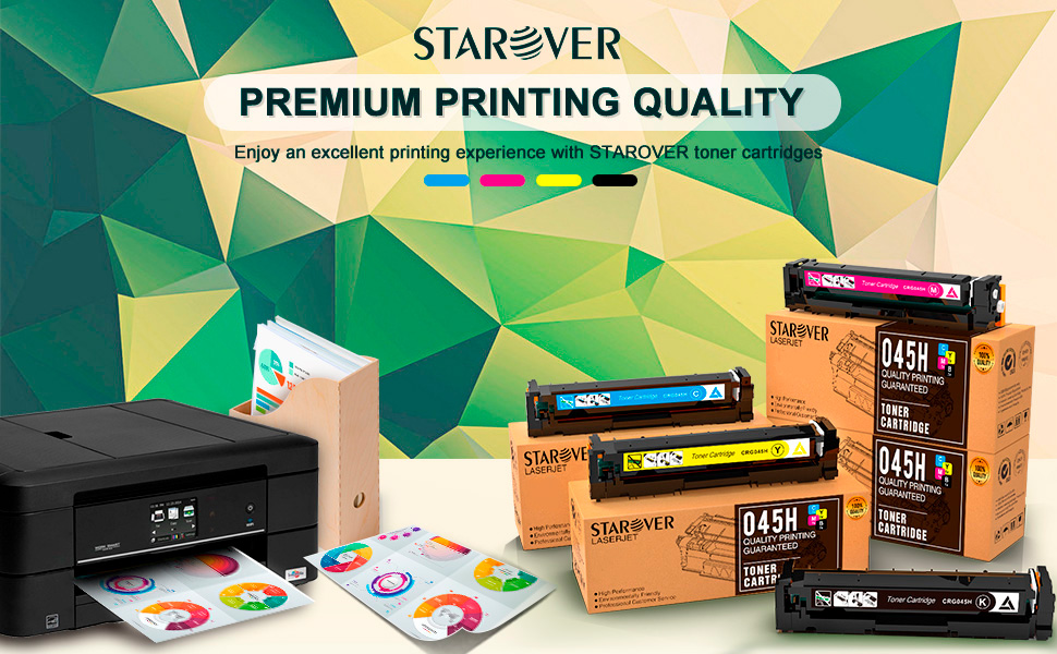 Amazon.com: STAROVER - Cartuchos de tóner compatibles para ...