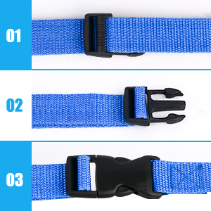 how to tighten the strap buckle