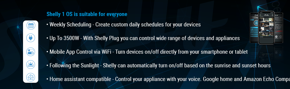 д  SHELLY 1 One Relay Switch Wireless WiFi Home Automation iOS Android Application 1 Pack c3e898d4 06d2 4ee2 a6ba d04a4d0ea05a