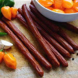 Original Habanero Meat Sticks, by El Norteño, Beef and Pork Blend, Low  Carb, 5g Protein, Low Sugar,