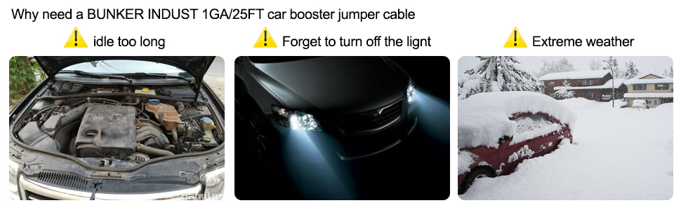 JUMPER BOSSTER CABLE Battery Jump Starter Battery Cables