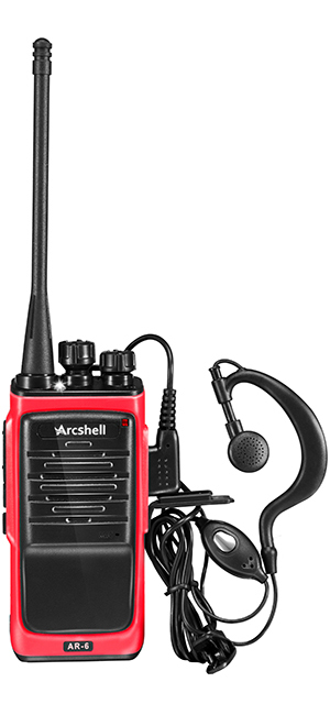 Long Range Walkie Talkie 4 Set 50 Mile Two Way Radio Charge Headset Waterproof
