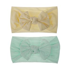 baby nylon headbands and bows