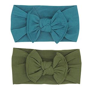 Baby Nylon Elastic Knotted Headbands Baby Head Wraps Baby Headbands Bows