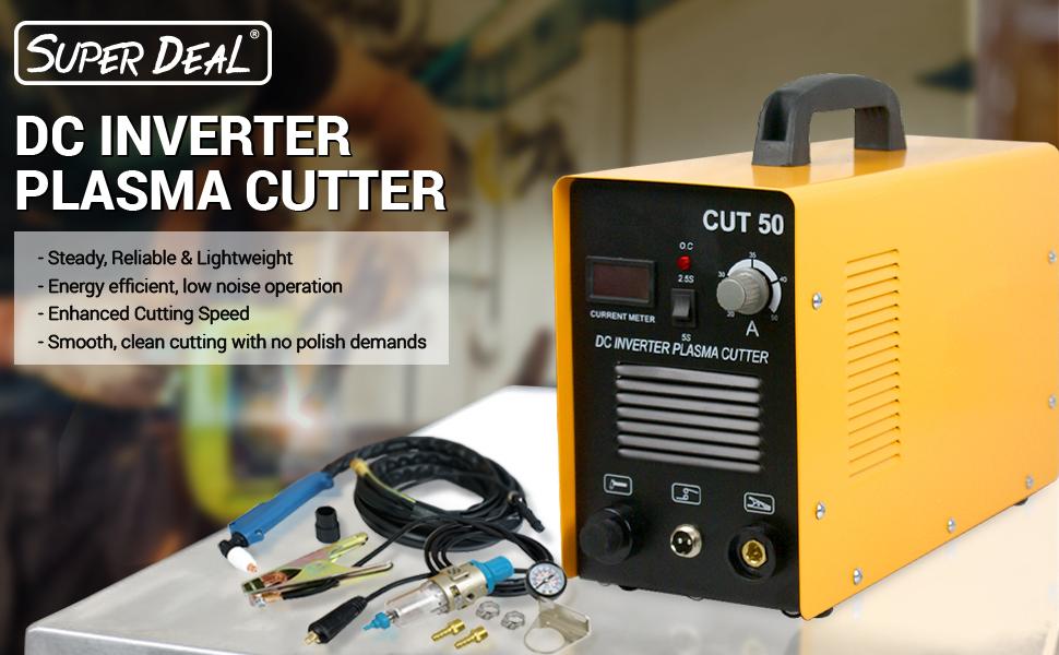 SUPER DEAL DC Inverter Plasma Cutter Welding Machine