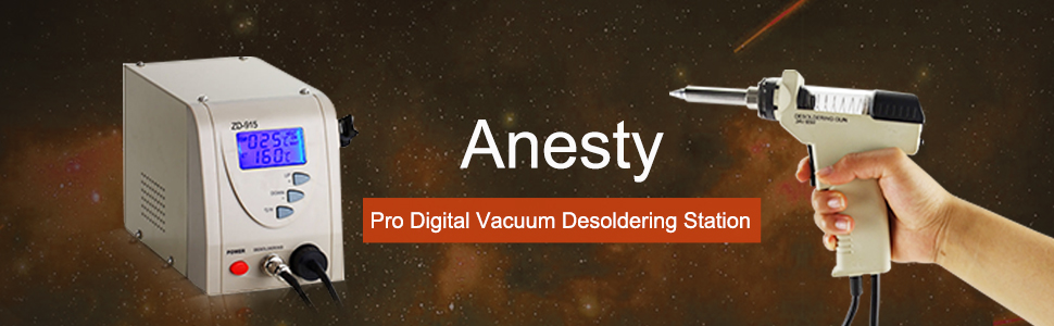 Anesty Professional Removal Rework Iron Pro Digital Vacuum Desoldering Station