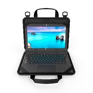 case always on EVA handles zipper sleeve tablet bag  messenger  shoulder strap briefcase cover uzbl