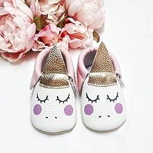 563895c3d58a princess dress. pink unicorn shoes. white baby shoes