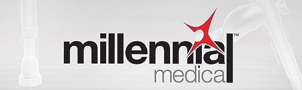 Millennial Medical Banner Logo