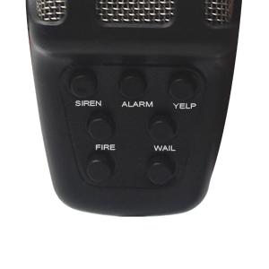 Amazon.com: GAMPRO Car Siren Speaker,12V 80W 7 Tone Sound