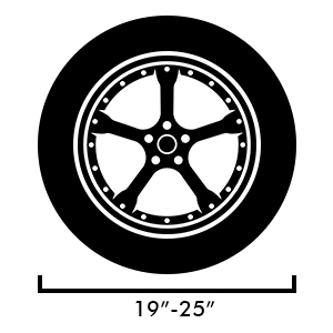 amazon g ro wheel tire covers fits 19 25 tire diameters 2018 Mercury Concept our tire cover will fit tires that between 19 and 25 please messure your tires before purchasing