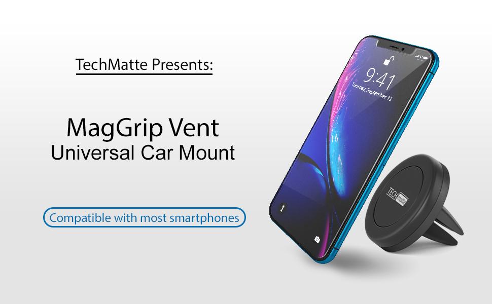 car phone holder air vent magnetic mount phone holder