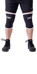 sling shot knee sleeves black mark bell