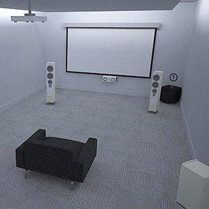 REL, Acoustics, Set-up, Positioning, configuration