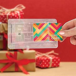 Amazon Com Tech Tools Gift Card Maze Brain Teasing Money Puzzle