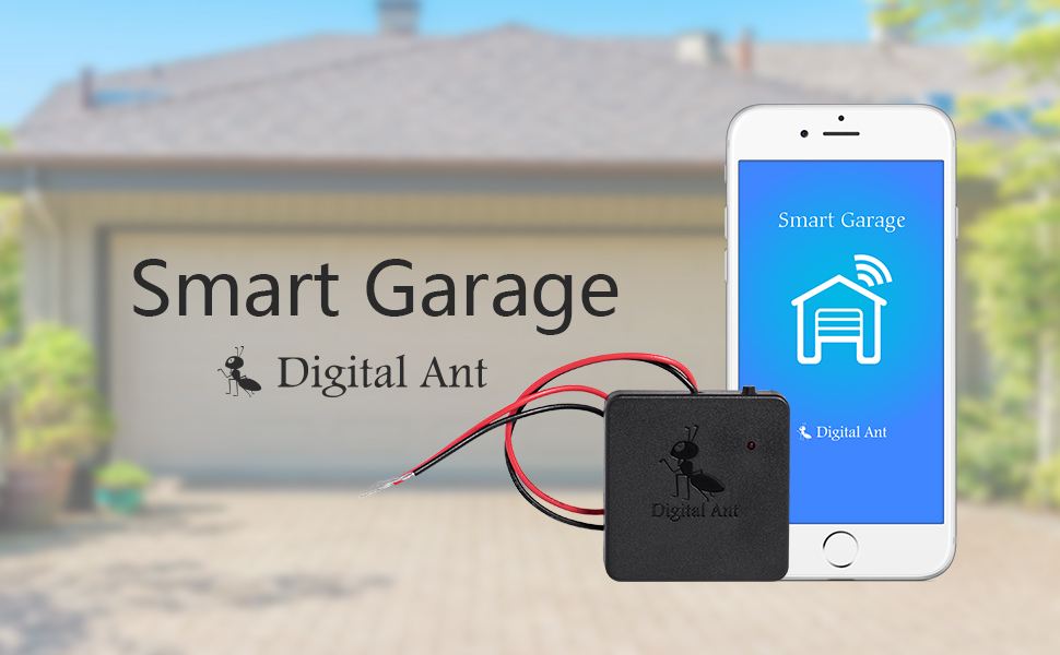 Digital Ant Smart Garage Opener Bluetooth Remote Garage