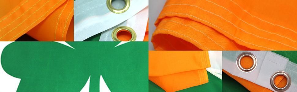 Irish Shamrock 150D Printed Polyester