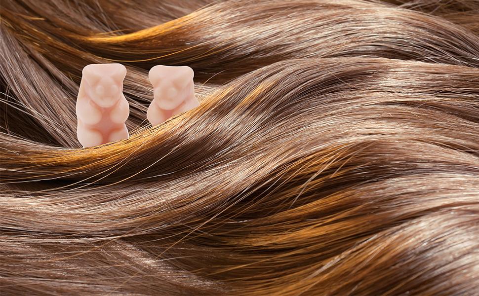 Amazon Com Vegepower Hair Growth Care Bear Multivitamin