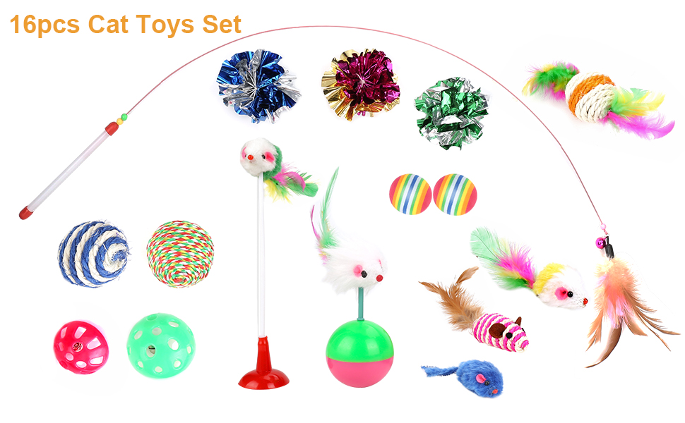 cat toy set