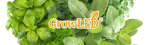 GrowLED I Shape Height Adjustable Indoor Garden Kit
