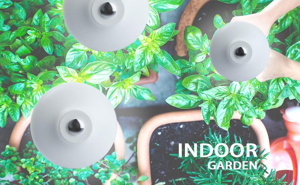 Indoor garden kit, indoor garden kit with light