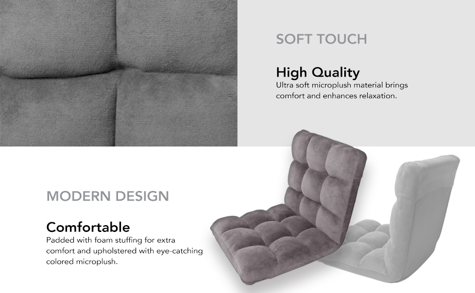 HIgh quality fabric lounging chair