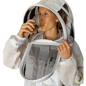 aerated beekeeping suit
