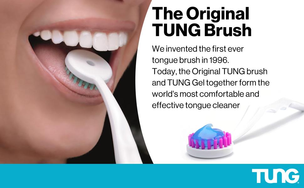 Peak Essentials TUNG Brush