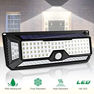 3 Led Solar Powered Outdoor Lights Lamp Fence Gutter Roof Yard Wall Garden Light Outdoor Lighting Led Solar Light Apj Moderate Price Solar Lamps