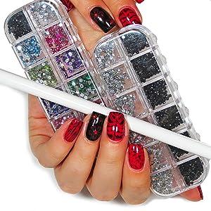 art supplies tool kit cosmetics girls toys acrylic nails gel polish pedicure tools nail nail art