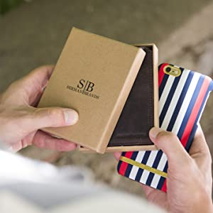 Amazon.com: Carteras para hombre de Serman Brands, delgadas ...