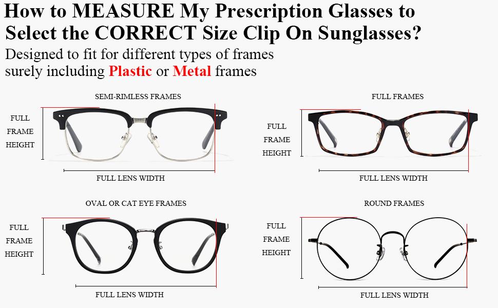 Polarized Cat Eye Clip On Sunglasses Over Prescription Glasses for Women UV  Protection