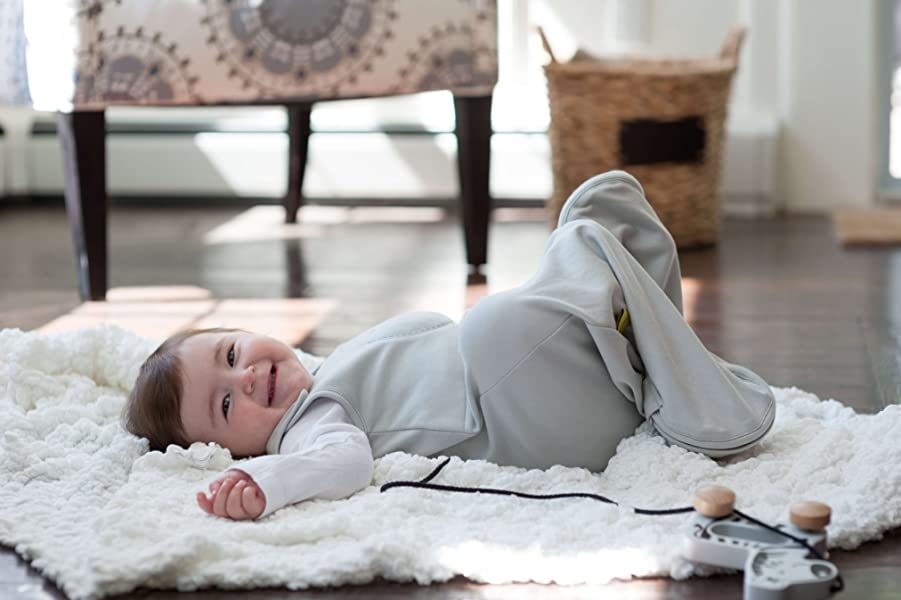 5bc86324838f Nested Bean Zen Sack Winter Weight - Gently Weighted Infant Sleep Bag  Designed to Feel Like You...