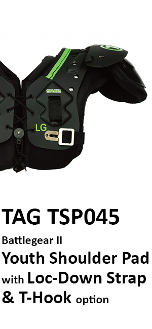 959f36cf75c55 The TAG Battle Gear II Youth Shoulder Pad offers many of the features that  we build into our higher end shoulder pads. Like Strikeforce, these pads  offer ...
