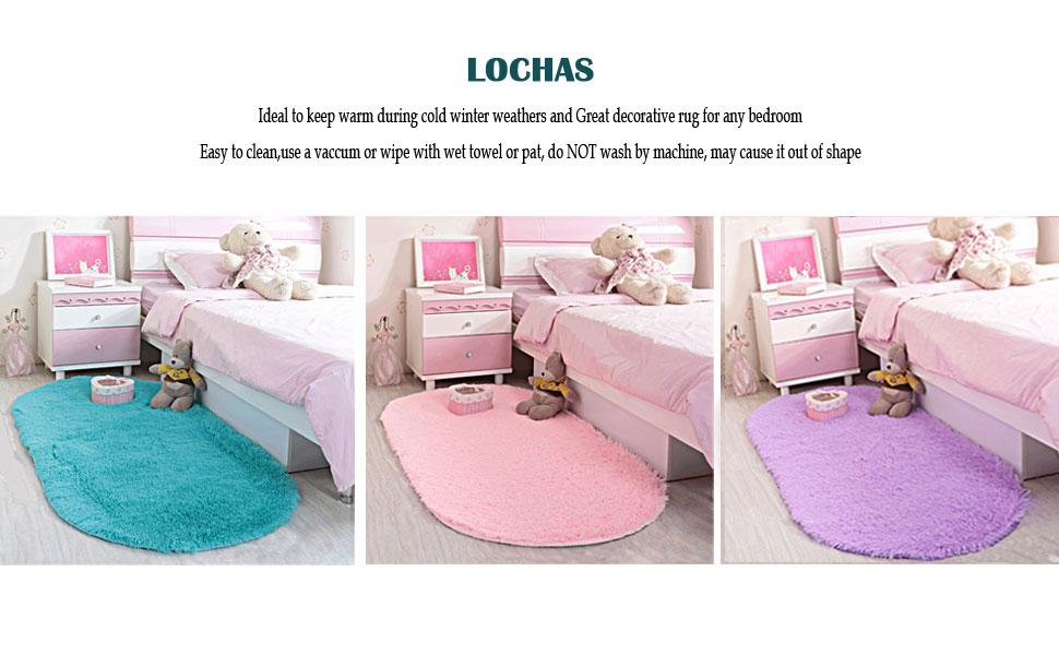 Amazon.com: LOCHAS - Alfombra para el salón (ultra suave ...