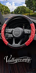 Microfiber Leather steering wheelcover