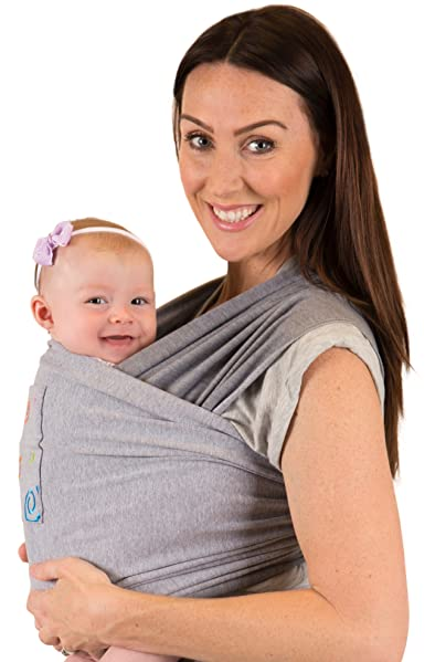 Amazon Com Newborn Infant Baby Toddler Wrap Carrier Sling