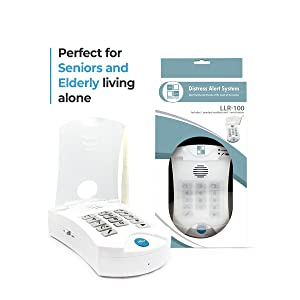 321 Alert Medical Alert System for Seniors NO Monthly FEE with Waterproof  Help Buttons  Family Caregiver