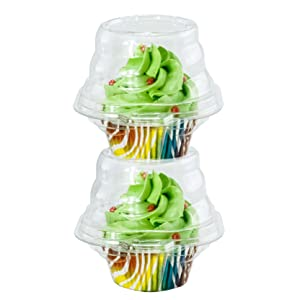 Stackable Cupcake Plastic Container