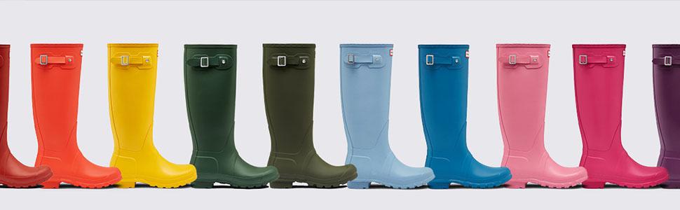 0688894e4de Hunter Women's Original Tall Rain Boot