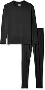 Men's Ultra Soft Fleece Lined Thermal Long John Set