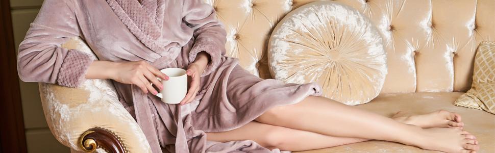 bath robes fleece robes warm robes soft robes